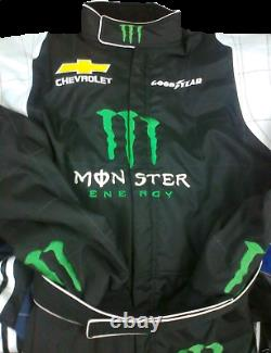 Go Kart Race Suit Monster Karting Race Wear Adulte Brodé