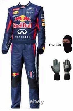 Go Kart Race Suit New Design Red Bull