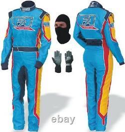 Go Kart Race Suit Pack Cik Fia Niveau 2 (cadeaux Gratuits Inclus)