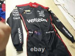 Go Kart Racing Suit Verizon (costume Noir Personnalisé)