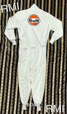 Gulf Brodeed Patches Go Kart/karting Race/racing Classical Hobby Race Suit