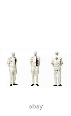 Gulf Go Kart Racing Classique Hobby Imprimé Race Suit