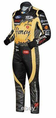 Honey Go Kart Race Suit Cik/fia Niveau 2 Approuvé Avec Des Cadeaux Gratuits Inclus