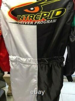Intrepid Go Kart Race Suit Cik/fia Niveau 2 Approuvé Avec Des Cadeaux Gratuits Inclus