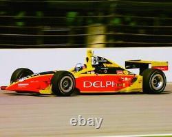 Irl Indy Racing Scott Sharp Indycar Driver Suit Delphi Racer Indy Carpot