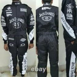 Jack Daniels Go Kart Race Suit Cik/fia Niveau 2 Approuvé Avec Des Cadeaux Gratuits