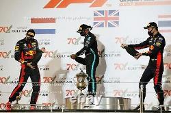 L. Hamilton F1 Suit Karting Suit 2018 Patronas Mercedes Team Go Kart Race Suit