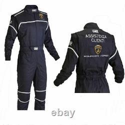 Lamborghini Go Kart Race Suit Cik/fia Niveau 2 Approuvé Avec Des Cadeaux Gratuits