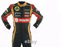 Lotus Go Kart Race Suit Cik/fia Niveau 2 Approuvé Avec Des Cadeaux Gratuits Inclus