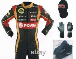 Lotus Go Kart Race Suit Cik/fia Niveau 2 Approuvé Avec Des Chaussures Et Des Gants Assortis