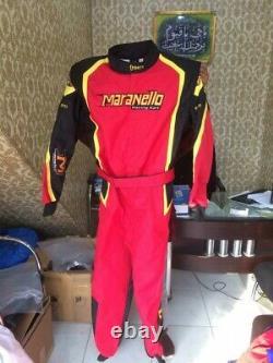 Maranello Go Kart Race Suit Cik/fia Niveau 2 Approuvé Avec Des Cadeaux Gratuits Inclus