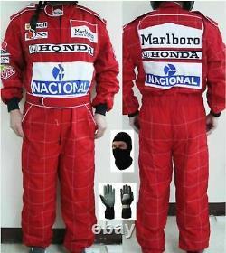 Marlboro-go Kart Racing Suit Sublimé Cik Fia Niveau 2