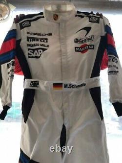 Martini Go Kart Race Suit Cik/fia Niveau 2 Approuvé Avec Des Cadeaux Gratuits Inclus