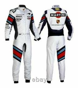 Martini Go Kart Racing Suit Cik Fia Level II Sublimation Printing