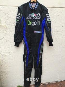 Mir Raceline 42 Go Kart Racing Suit Made In Italy Sz 52