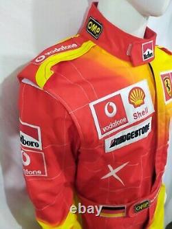 Monaco Grand Prix Costume De Course Numérique Sublimé Et Patchs Brodés