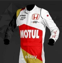 Motul Go Kart Race Suit Cik/fia Niveau 2 Approuvé Avec Des Cadeaux Gratuits Inclus