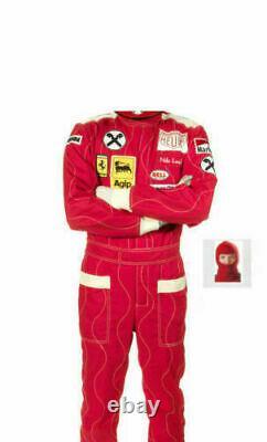 Niki Lauda Go Kart Race Suit Cik/fia Niveau 2 Approuvé Avec Des Cadeaux Gratuits