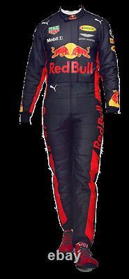 Nouveau Costume De Course Red Bull Kart Cik/fia Niveau 2 (cadeau Gratuit)