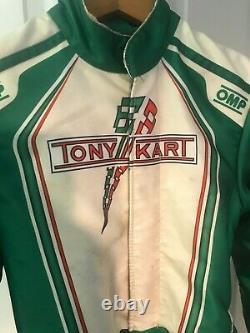 Omp Ks-1r Tony Kart Taille De La Combinaison 150 Ks1r Karting Racing Tonykart Vortex Jeu Rok