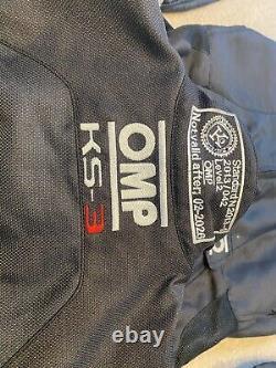Omp Ks-3 Go Kart Race Kart Taille 160 Neuf