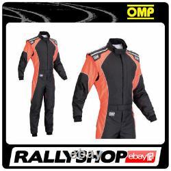 Omp Ks-3 Suit Noir Fluo Orange Taille 60 Kart Racing Globalement Cik 3 Couches Stock