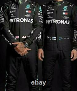 Petronas Go Kart Race Suit Cik/fia Niveau 2 Approuvé Avec Des Cadeaux Gratuits Inclus
