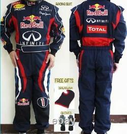 Red Bull 2012 Kart Combinaison De Course Cik/fia Niveau 2 (cadeaux Gratuits)