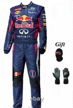 Red Bull 2013 Kart Combinaison De Course Cik/fia Niveau 2 (cadeaux Gratuits)