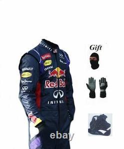Red Bull 2014 Kart Kit De Combinaison De Course Cik/fia Niveau 2 (cadeaux Gratuits)