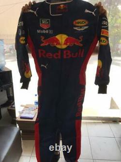 Red Bull Go Kart Race Suit Cik/fia Niveau 2 Approuvé Avec Des Cadeaux Gratuits Inclus