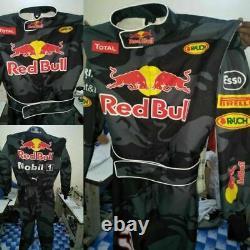 Red Bull Go Kart Race Suit Cik/fia Niveau 2 Approuvés Avec Des Cadeaux Gratuits Inclus