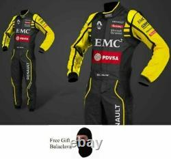 Renault Go Kart Race Suit Cik/fia Nevel 2 Approuvés Avec Des Cadeaux Gratuits Inclus