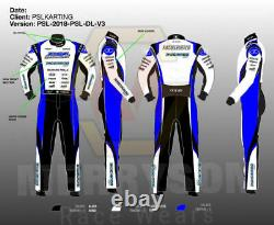 Ricciardo Kart Racing Suit Extrême Qualité Cik-fia Niveau 2