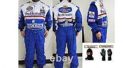 Rothman Kart Combinaison De Course Cik / Fia Niveau 2 (cadeaux Gratuits)