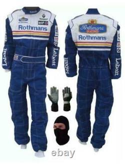 Rothmans Go Kart Race Suit Cik/fia Niveau 2 Approuvé Avec Des Cadeaux Gratuits Inclus