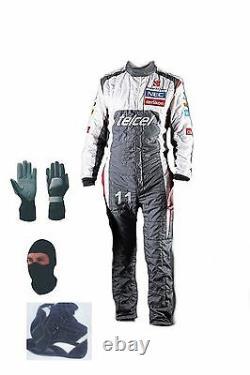 Sauber Kart Costume De Course Kit Cik/fia Niveau 2 2013 Style (cadeaux Gratuits)