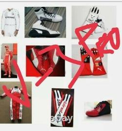 Set Of Go Kart Race Suit Cik/fia Niveau 2 Approuvé Avec Des Chaussures Et Des Gants Assortis