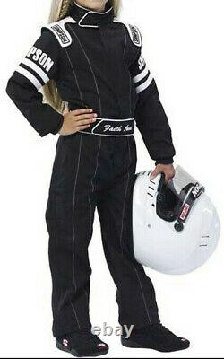 Simpson Legend II Jr. Youth Sfi-1 Racing Suit Kart 1-piece Child's Fire Suit