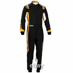 Sparco Thunder Go Kart Racing Suit, Cik Fia Niveau 2 Approuvé