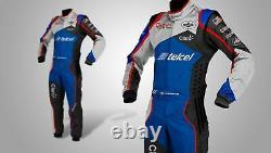Telcel-go Kart Racing Suit Sublimé Cik Fia Niveau 2