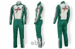 Tony Kart Go Kart Race Suit Cik/fia Niveau 2 Approuvé Avec Des Cadeaux Gratuits Inclus