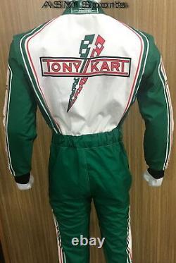 Tony Kart Race Costume Cik / Fia Niveau 2 Au Vendeur Nouveau