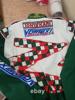 Tony Kart Racing Suit Sublimation Cik-fia Niveau 2 + Cadeau Gratuit De Balaclava