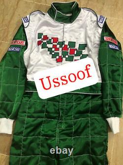 Tony/kart Karting Race Suite Cik/fia Niveau 2 Approuvé Avec Gift Gratuit