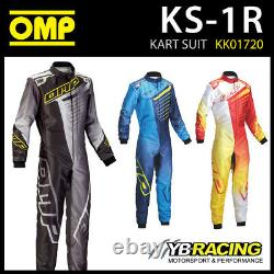 Vente! Kk01720 Omp Ks-1r Ks1r Kart Race Suit Top Of The Range Kart Suit