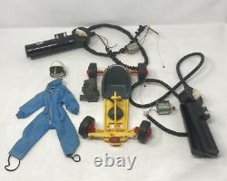 Vintage Action Man Race Go Kart Car Palitoy 1970s Spares Repairs & Driver Suit