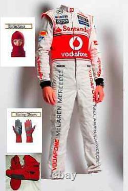 Vodafone Mclaren Combinaison De Course De Kart Kit Cik /fia Niveau 2 2013 Style (cadeaux Gratuits)
